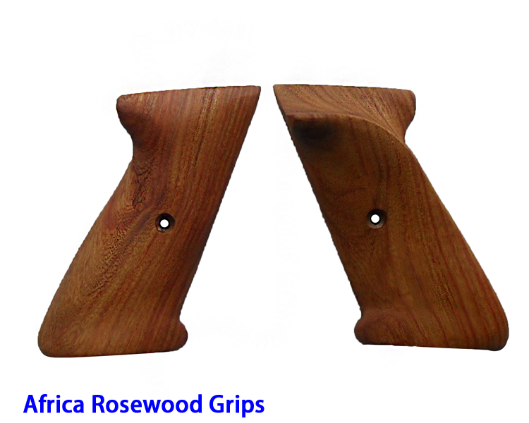 Africa Rose Wood Handle Grips(21N)