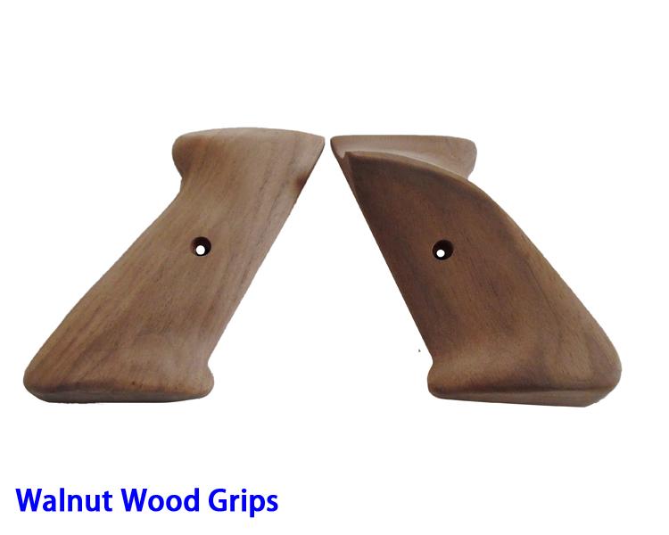 Walnut Wood Handle Grips(31N)