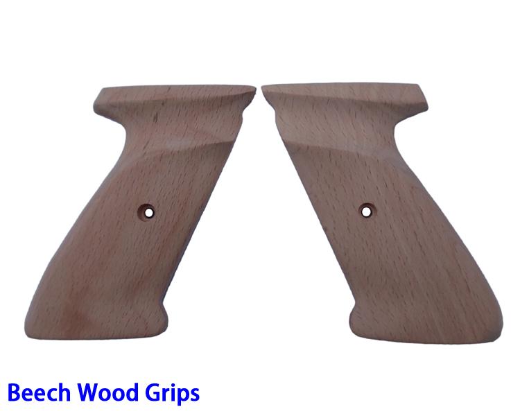 European Beech Wood Handle Grips(74N)