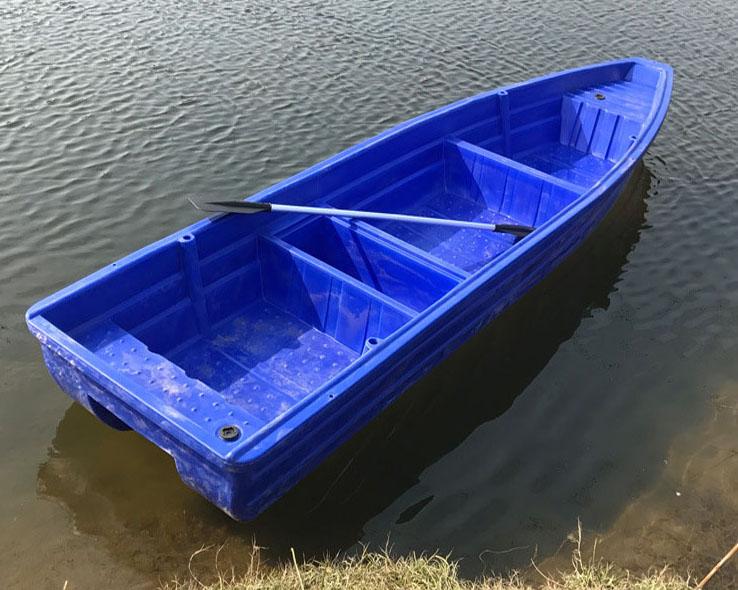 Plastic Rowing Lake Working Fishing Boat(YK5.0)